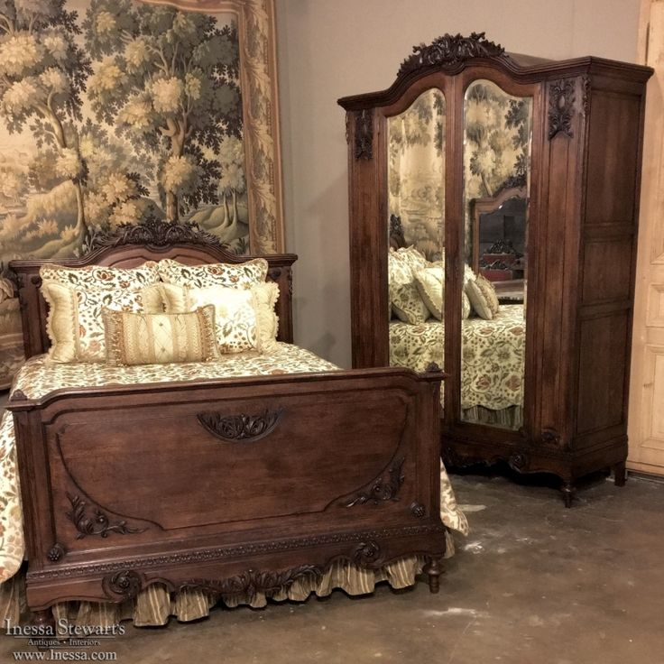 17 Best Images About Antique Bedroom Furniture / Beds On