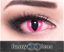"""Crazy Kontaktlinse """"Pink Cat"""""""