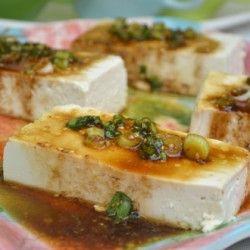 Tofu with Soy Sauce Sesame Sauce