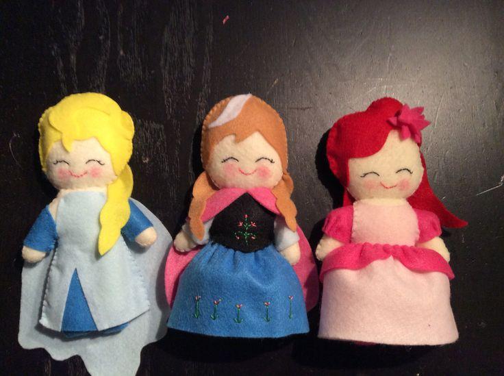 Princess disney Ariel, Anna, Elsa
