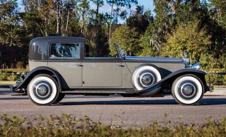 """crazyforcars: """"1933 Rolls Royce Phantom II Newport Town Car by Brewster """""""