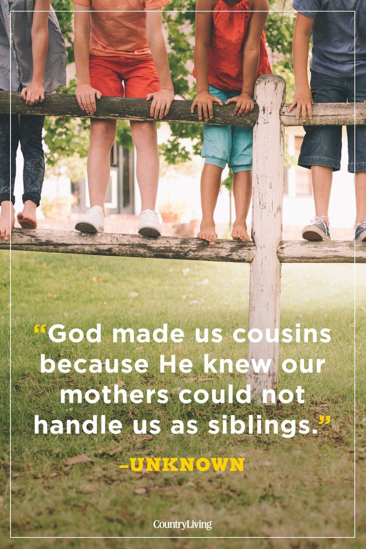 20 Touching Cousin Quotes That Sum up Your Lifelong