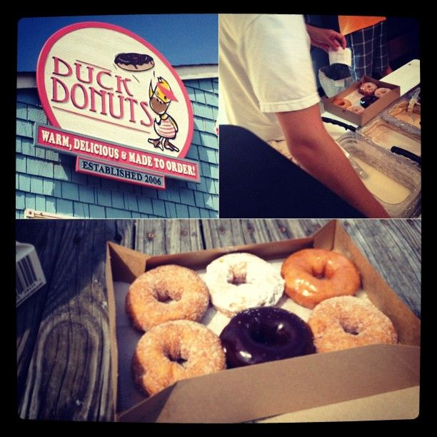 Duck Donuts is one of the most prized possessions of OBX! Craving them to since we left. The best donuts on EARTH!