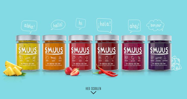 """Smoothie-Inspired Toast Spreads - 'SMUUS' Makes Spicy Fruit & Veggie """"Smoothies"""" for Bread (GALLERY)"""