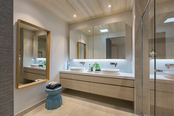 Master ensuite on display in the Vermont with a Cottesloe World of Style.