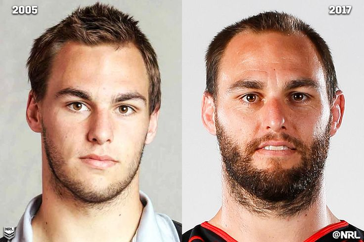 Simon Mannering, through the years! #NRLThenAndNow #NRL