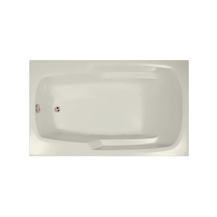 Hydro Systems Napa 6 ft. Reversible Drain Air Bath Tub in Biscuit