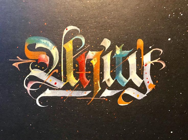 Shout out to @theinkpotfiles for passing the baton in @jamesllewis' #unity challenge. I nominate @theatanas @alpha_bet_assassin and @alpha.skao, each of these great artists have inspired me in this craft! • • #Art #artist #artwork #instaart #calligraphy #calligraffiti #blackletter #abstract #abstractart #fraktur #gothic #letters #lettering #handlettering #handwritten #script #ink #type #typography #50words #typism #typegang