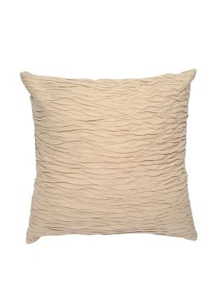 Darzzi Textured Surface Pillow (Beige)