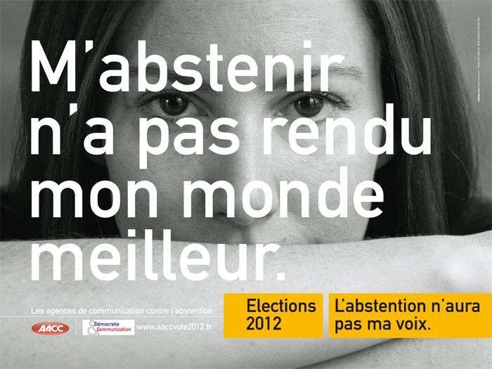 Campagne abstention 2012