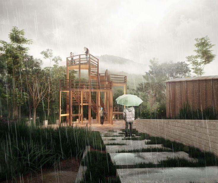 Imagen 2 de 9 de la galería de Comienza construcción en Ecuador de sendero ecológico diseñado por Estudio 685. Cortesía de Estudio 685
