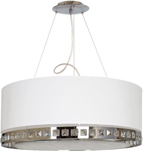 CRYSTAL SHADE  Kryształ, piękna tkanina i profesjonalne wykonanie. #lampa #wisząca #Hesmo
