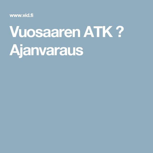 Vuosaaren ATK ➟ Ajanvaraus