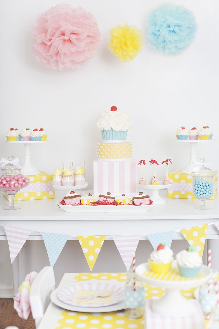 Cute as a Cupcake Party