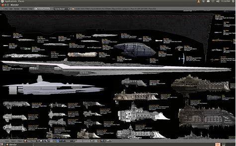 Image result for ships of star wars Size Comparison ...