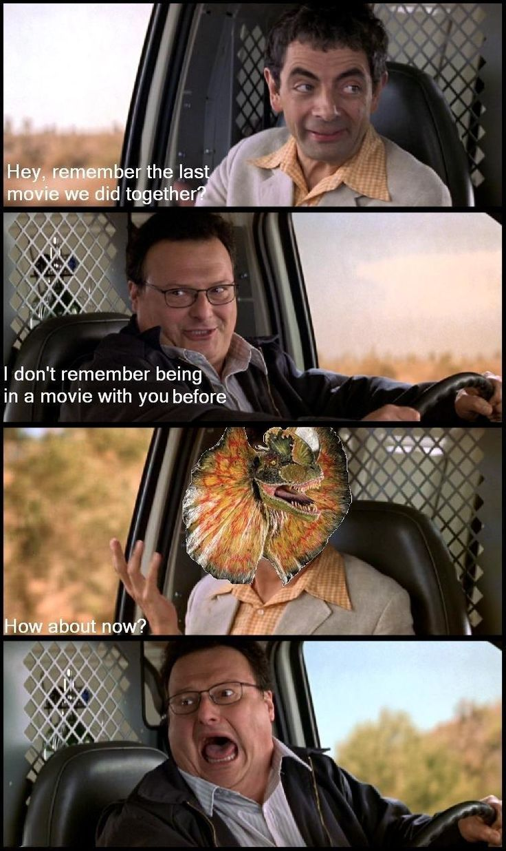 hahaha..Jurassicpark, Jurassic Parks, Remember, Hey, Laugh, Funny Pictures, Weird Stuff, Funny Stuff, Movie Memes