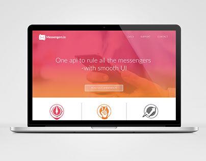 "Check out new work on my @Behance portfolio: ""Messengers.io""…"