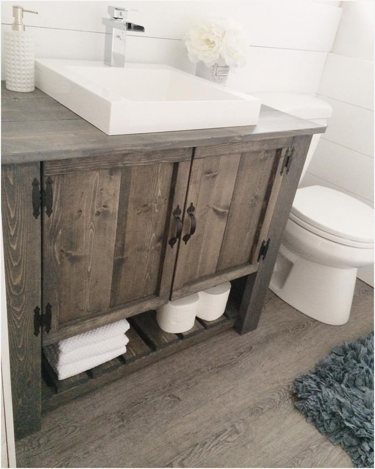 40 Rustic Bathroom Vanities Ideas Get Inspired With Perfect Designs Bathroom Vanity Remodel Rustic Bathroom Vanities Bathroom Remodel Master