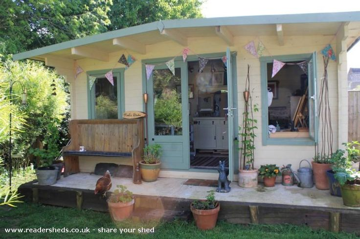 The Ladyshed is an entrant for Shed of the year 2014 via @unclewilco #shedoftheyear