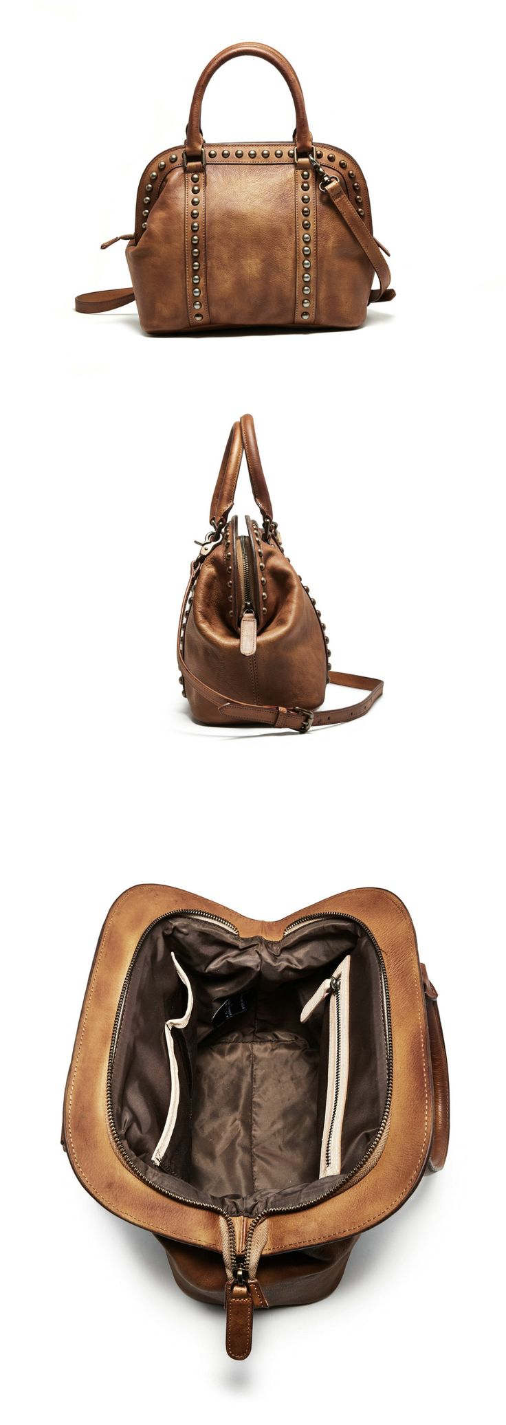 Handmade Full Grain Genuine Leather Handbag Designer Messenger Bag