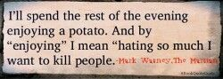 Mark Watney and his Love-Hate Relationship with POTATOES!! -THE MARTIAN by Andy Weir-