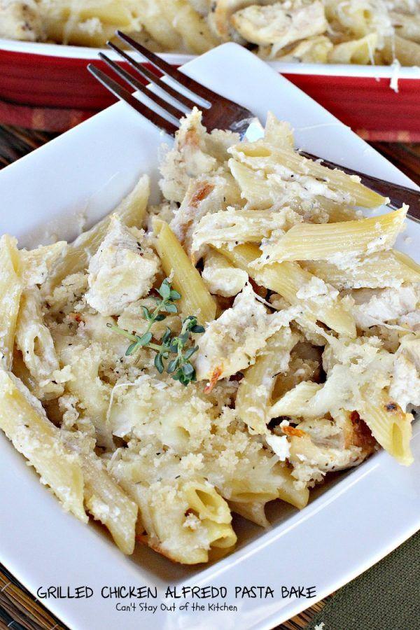 Grilled Chicken Alfredo Pasta Bake – IMG_0598