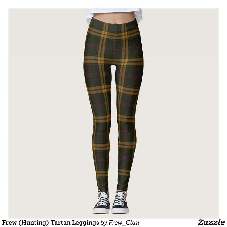Frew (Hunting) Tartan Leggings : Beautiful #Yoga Pants - #Exercise Leggings and #Running Tights - Health and Training Inspiration - Clothing for #Fitspiration and #Fitspo - #Fitness and #Gym #Inspo - #Motivational #Workout Clothes - Style AND #comfort can both be possible in one perfect pair of custom #leggings. #Frew (Hunting) Tartan Leggings was crafted made with care each pair of leggings is printed before being sewn allowing for #fun and #creative designs on every square inch - Medium…