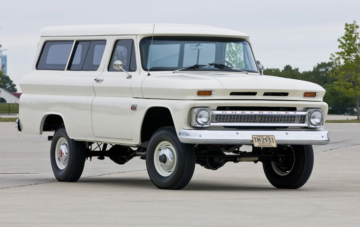 pin 1966 chevy suburban - photo #10