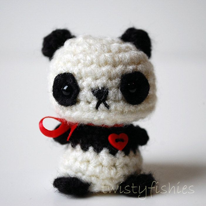 Kawaii Panda Amigurumi : 70 best images about Kawaii ? Kuteness Team On Etsy on ...