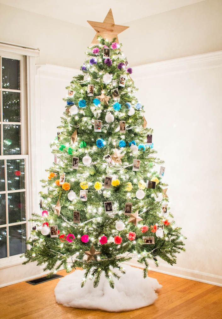 25 unique white house christmas tree ideas on pinterest for Colorful tree house