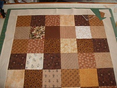 This is the before picture. Look at the page and see the twist results. Sunshower Quilts: Let's Twist Again!