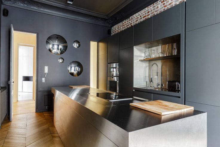 1000 id es sur le th me haussmanien sur pinterest for Appartement ultra design