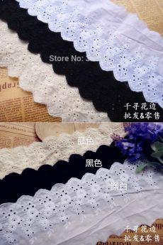 Швейцарских хлопка муслин ушко аппликация кружева белый вышивка цветок 12.5 см купить на AliExpress
