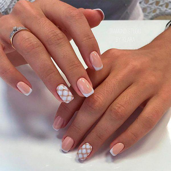 Krasivyj French Letnego Sezona French Nail Designs French Nails