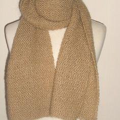 Echarpe tricotée main pour homme...ou femme !