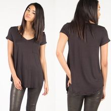 China Supplier Bulk Wholesale Loose Plain Pocket Tee Blank T-Shirt  best buy follow this link http://shopingayo.space