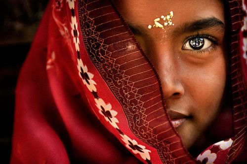 India. Beautiful girl!