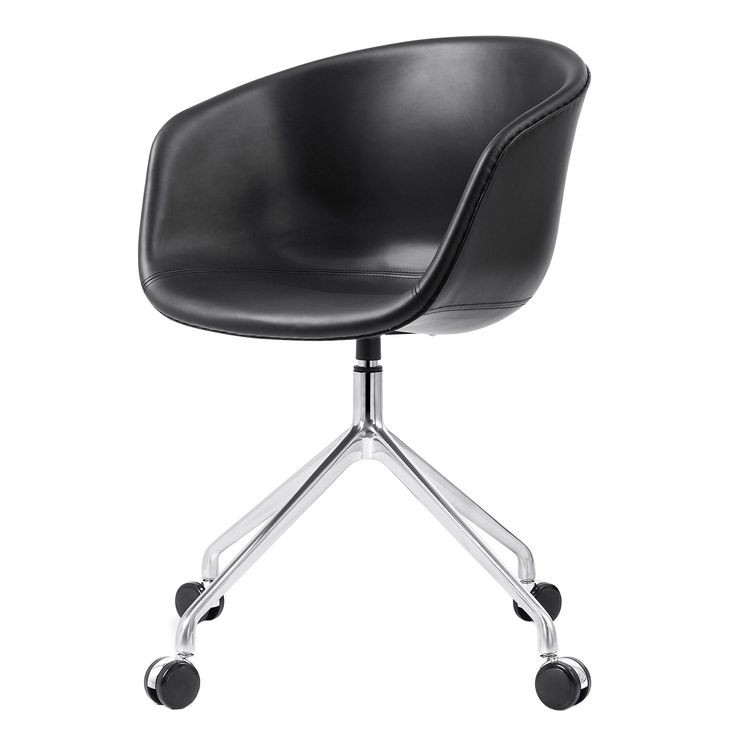 M26 Scandinavian Style Leather Office Chair (Color Options)