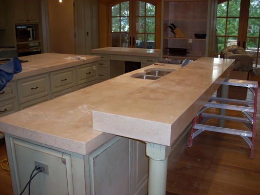 Concrete Countertops That Look Like Marble Diy At Cfa Online In 2019 Kitchen Cement