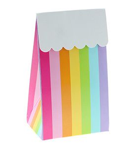 Let's Party With Balloons - Sambellina Rainbow Stripes Treat Box, $15.00 (http://www.letspartywithballoons.com.au/sambellina-rainbow-stripes-treat-box/?page_context=category