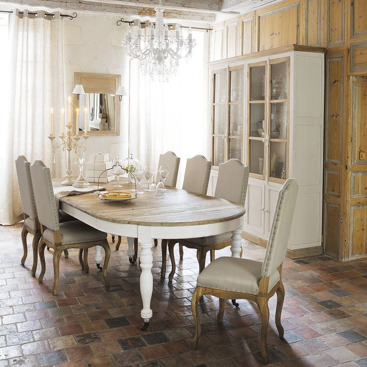 discover maisons du mondes wooden extending dining table on castors w browse a varied range of stylish affordable furniture to add a unique touch to your - Maison Du Monde Ballerina