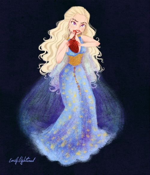 Khaleesi illustration (Game of Thrones)