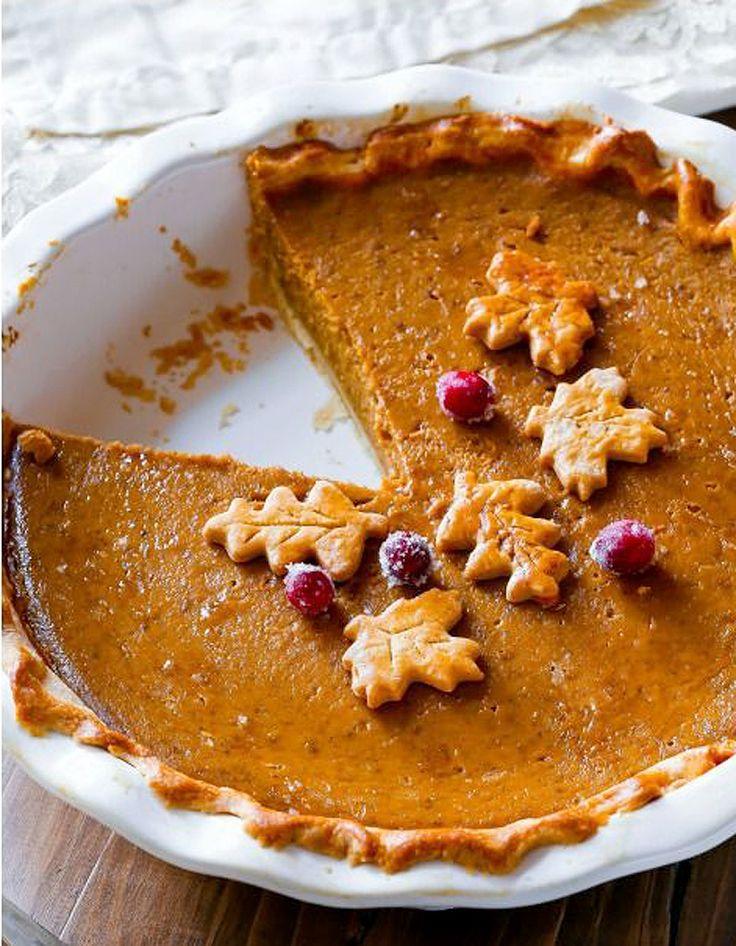 Pumpkin pie, la tarte à la citrouille - La citrouille, star des desserts de Thanksgiving - Elle à Table