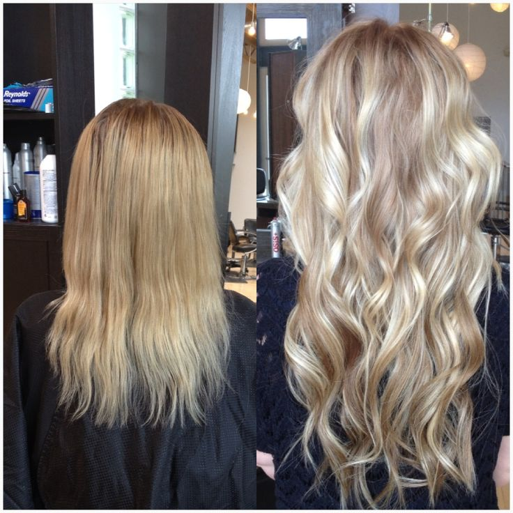Tremendous 1000 Images About Before Amp After Hair Extensions On Pinterest Short Hairstyles Gunalazisus