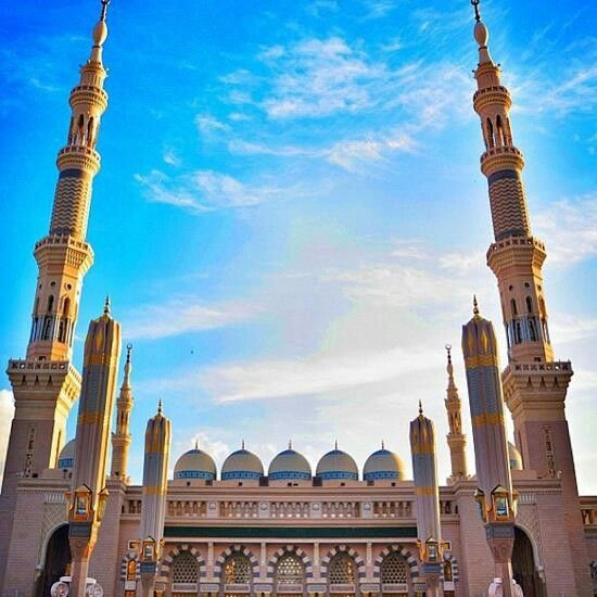 The prophet Mohammed mosque - Al Madina -KSA
