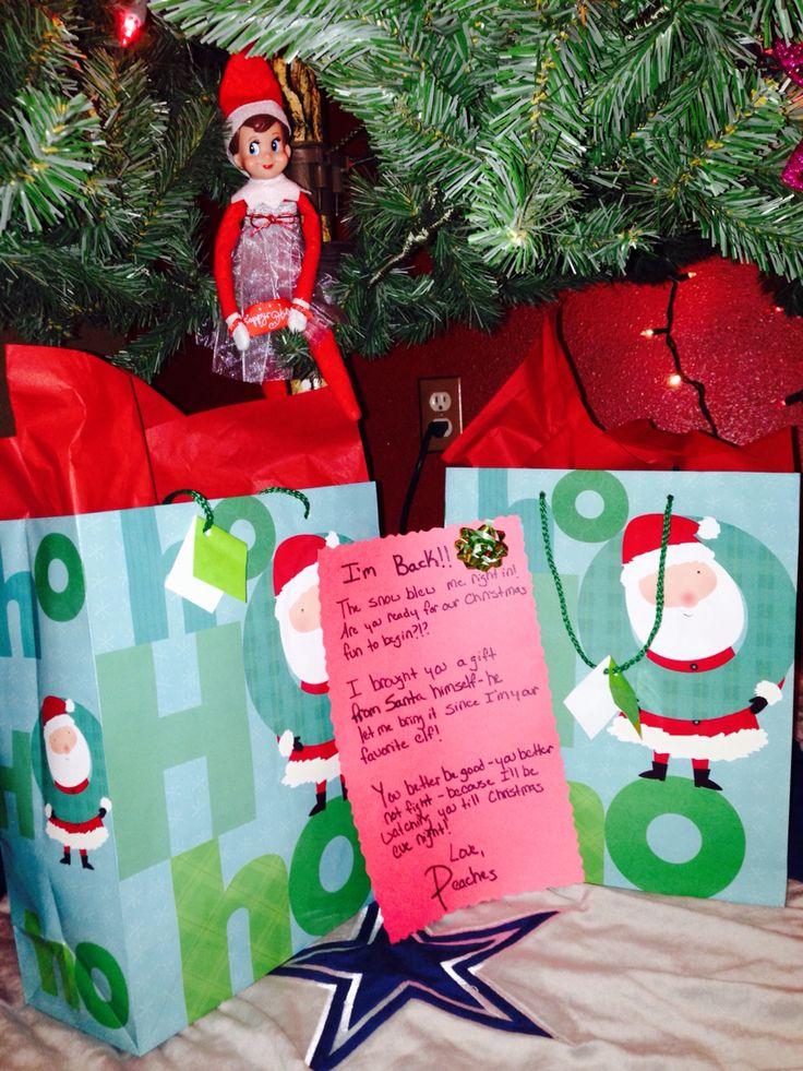 I M Back 2015 Elf On The Shelf Peaches The Quot Elf
