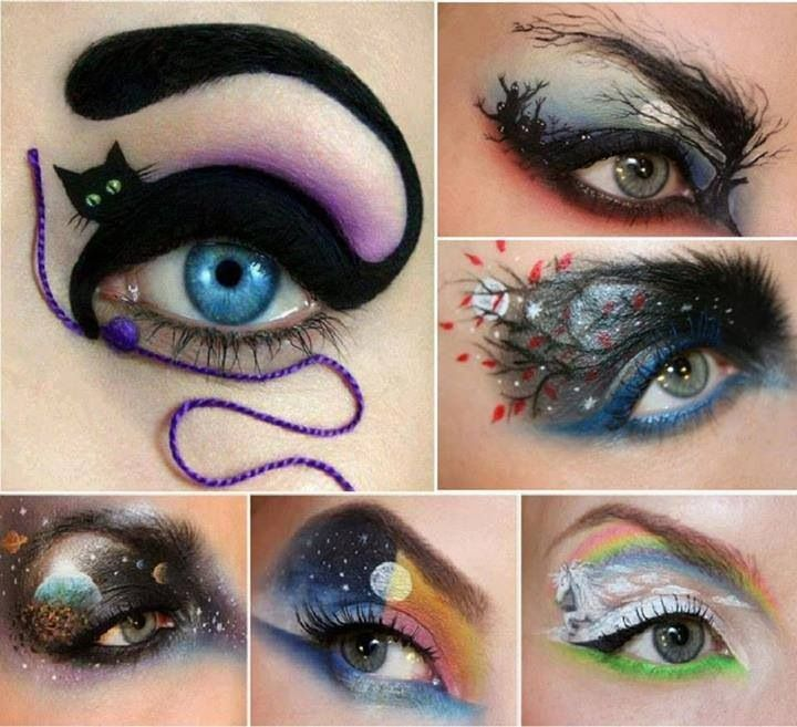 183 best Halloween/Theatrical Make Up images on Pinterest ...