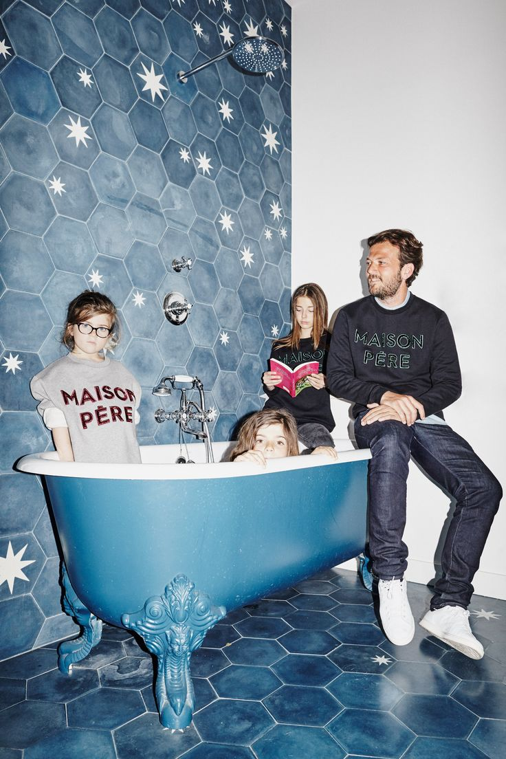 Maison Père - Fathers Day Campaign by MAISON ST HONORE  Pic: Manuel Obadia Wills  Creative Direction: Alexandra Perrin