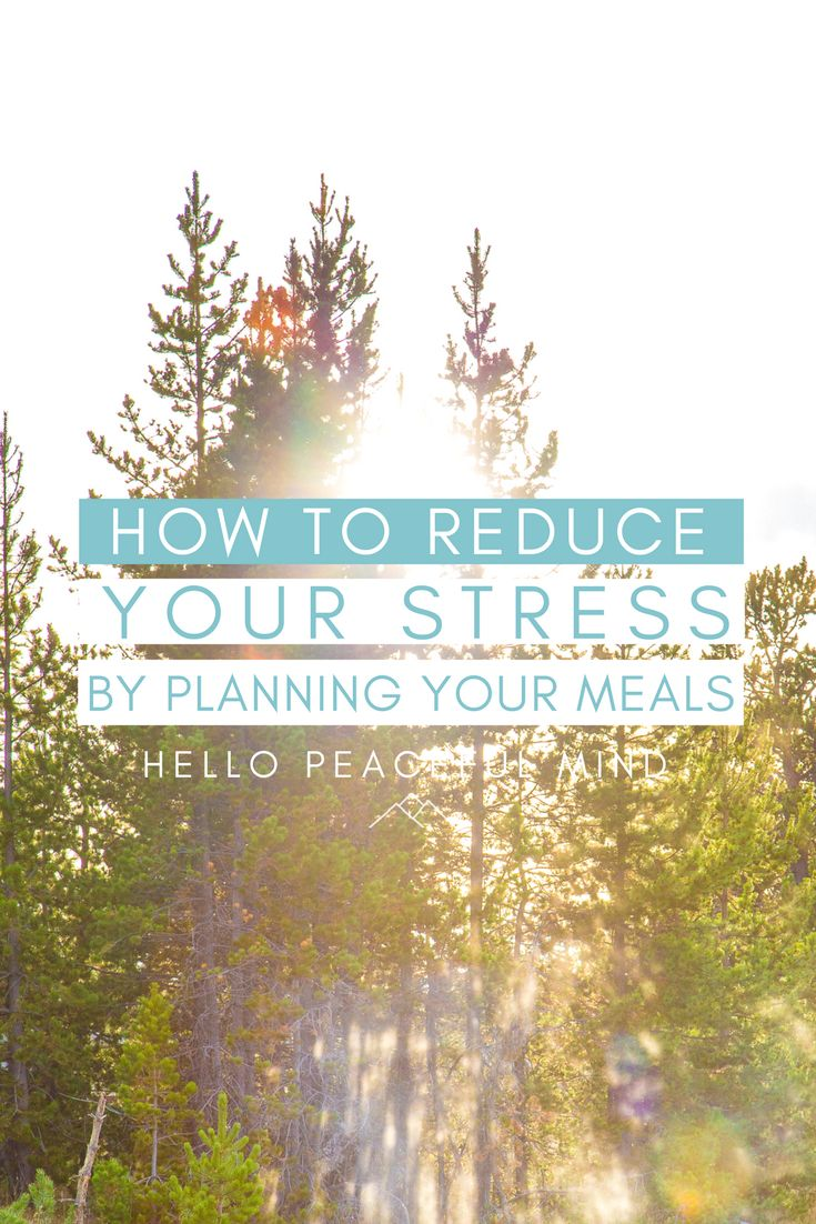 10 steps how to use stress to increase your productivity motivate - How To Reduce Your Stress By Planning Your Meals