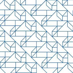 Graphic Pattern - Blue - Transparent. Price 6,5 € Grafisk Mønster - Blå - Gennemsigtig folie Pris 45 dkk.